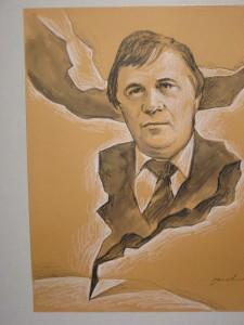 Nicolae Dabija, desen de Florin Buciuleac